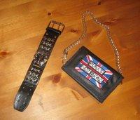 Klocka och plånbok